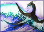 Fireblue by Galidor-Dragon