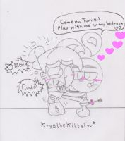 Yang loves Timmy wait what? XD by RegularBluejay-girl