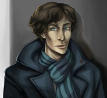 bbc sherlock dooodle by Thundred