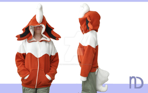 Flareon Hoodie by NymphadoraDesigns