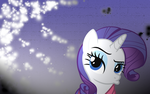 Pouting Rarity wallpaper by marky1212