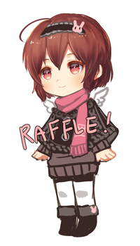 raffle[winner announce!] by kthelimit