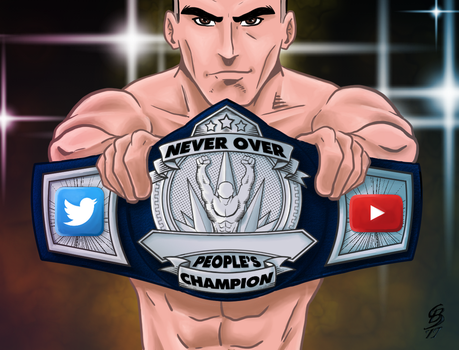 Never Over Live Peoples Championship by JediKnight97