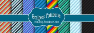 Stripes Patterns Pack by Romenig