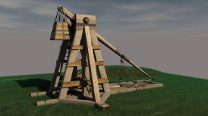 Trebuchet by Ageofarmour