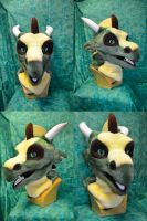 Akahito Dragon Head by temperance