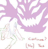 Continue? Sometimes you just can't. by NinoSatori