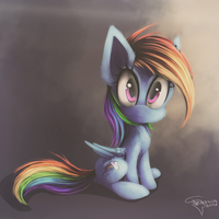 Fluffy Dash by Ferasor