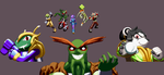 Freedom Planet cast in colour by DOA687