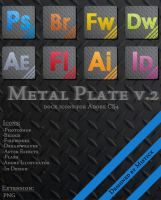 Metal Plate v2 by 1dentity