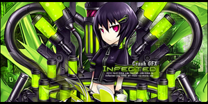 Infected - Anime Mecha Girl Signature by keshavkd