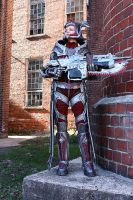 Queen Myrrah cosplay, completed build. by cimmerianwillow