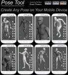 Artist Pose Tool 3D for Android, iPhone, iPad by RivenArt