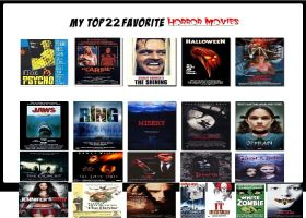 My Top 22 Favorite Horror Movies by Normanjokerwise