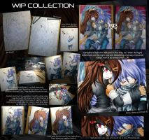 Dark Romance - WIP Collection by Chibi-Nuffie