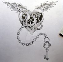 Steam punk Tattoo Design by Tattoo-Design