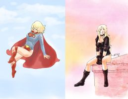 Fabulous ladies of DC by Mirabel-chan