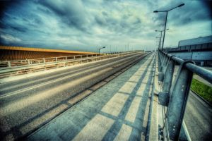 Concrete and clouds II by kubica