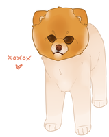 Here have a puppy by GhostlyEcho