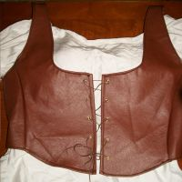 Medieval Corset by Amneh