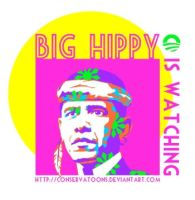 Big Hippy is Watching by Conservatoons
