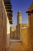Qatar - Wakra Resort 01 - Narrow Passage by GiardQatar