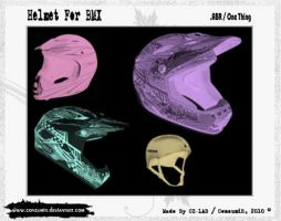 Helmets For BMX Brushes .ABR by conzumir