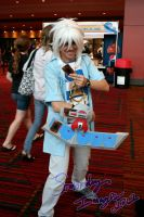 Bakura Ready to Duel! by Sombraluz-Images
