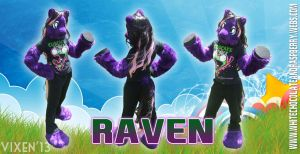 Fursuit Commission - Raven by Vixen8387