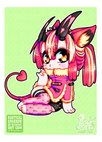 cm - chibi for PenguinFluffyPants by NauticalSparrow