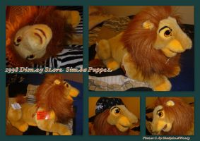 1998 Disney Store Adult Simba Puppet by DoloAndElectrik