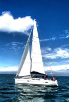 Blue Motion-Sailing by yanness