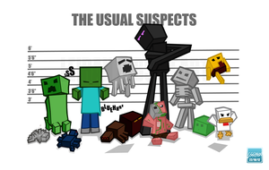 Minecraft Criminal Line Up by 02Lei