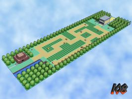 Route 11 3D by Drew108