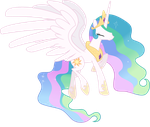 Happy Celestia by Powerpuncher