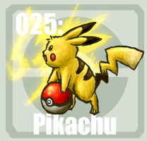 025 Pikachu by Pokedex