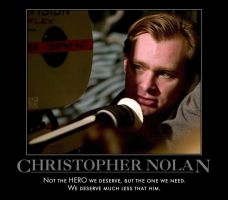 Christopher Nolan by MexPirateRed