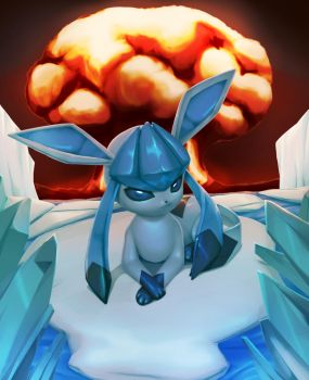 A Badass Glaceon by MisterPloxy