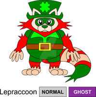 Leprechaun Legendary Fakemon by KingsTailor