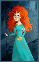 Scottish Caves - Merida by WillowLightfoot