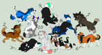 Wolf Adopts 10pts (CLOSED) by calaper