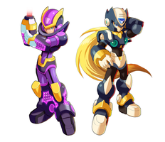 Megaman X9- Ultimate Armor and ??? by ultimatemaverickx