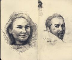 portraits by obier