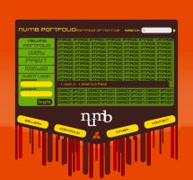 numb portfolio by feel-numb
