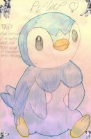 Piplup by Silvernazo