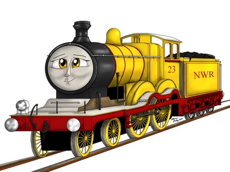 Molly the Yellow Engine in Season 21 jk by MeganekkoPlymouth241