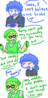 Random Comic: Mike and Ikes by doki-mocha