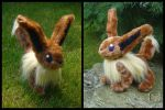 Pokemon: Eevee Plushie by VesteNotus
