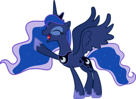Luna's BRINGING NIGHTMARE NIGHT BACK! by AlmostFictional