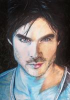 Ian Somerhalder Portrait by thefrenchberet